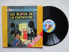 "LP 33T HERGE ""Tintin - Les bijoux de la Castafiore"" VACHE GROSJEAN MM43 FRANCE §"