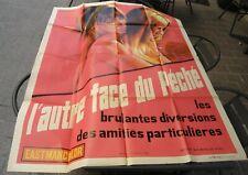 Curiosa Erotique - Affiche Cinéma 120x160 cm - L'Autre Face du Péché - 1969