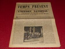 "[PRENSA WW2 39-45] ""TEMPS AHORA - SEMANAL"" # 4 / 15 SEPTIEMBRE 1944"