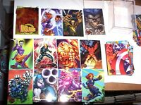 1996 MARVEL FLEER ULTRA ONSLAUGHT COMPLETE BASE 100 CARD SET X-MEN AVENGERS!