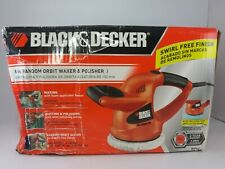 "BLACK & DECKER 6"" RANDOM ORBIT WAXER & POLISHER New open box"