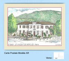 CP AR 38451 CARTE POSTALE DESSIN COULEUR 38 SAINT VINCENT DE MERCUZE