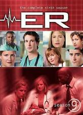 ER - The Complete Ninth Season (DVD, 2008, 6-Disc Set, Digipak)