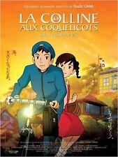 Affiche 120x160cm LA COLLINE AUX COQUELICOTS /KOKURIKO-ZAKA… 2012 Miyazaki NEUVE