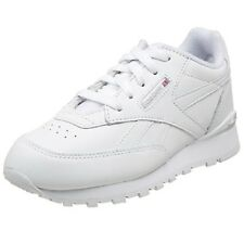 Preschool Reebok Classic Leather Conquest Clip White/Grey Brand New In Box