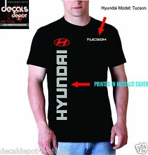 Custom Shirt for HYUNDAI Car owners Elantra Veloster Sonata Santa Fe and more...