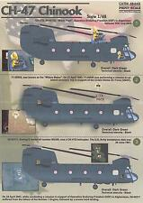 Print Scale Decals 1/48 Boeing Ch-47 Chinook Helicopter Part 1