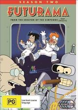 Futurama : Season 2 (DVD, 2006, 4-Disc Set) Region: 4