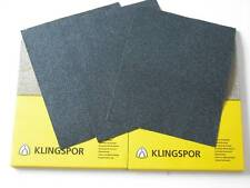 2 SHEETS OF EACH 1500,2000, 3000  GRIT KLINGSPOR WET AND DRY