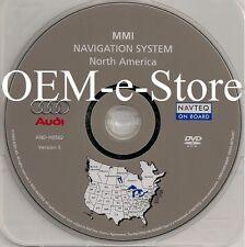 2005 2006 2007 Audi A6 S6 Avant Quattro Sedan Wagon Navigation DVD Map US Canada