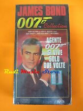 film VHS JAMES BOND 007 SI VIVE SOLO DUE VOLTE CARTONATA sigillata (F21)  no dvd