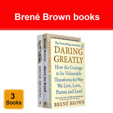Brene Brown 3 Books Collection Set Dare to Lead Rising Strong Daring Greatly