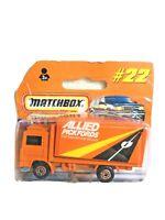 1999 MATCHBOX SUPERFAST #22 VOLVO CT ALLIED PICKFORDS INTERNATIONAL MOVERS MIB