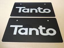 JDM DAIHATSU TANTO Original Dealer Showroom Display License Plates #2 Pair