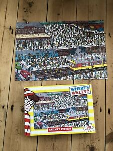 Where Is Wallie 250 Peice Puzzle - Railway Station 2013 Complete