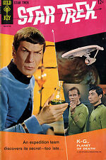 GOLD KEY STAR TREK COMICS #1-61 ON DVD FULL RUN SILVER AGE SCI-FI 1967-1979