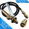 LPG Filler/Decanting Gun & Hose with Fork lift Cylinder adapter