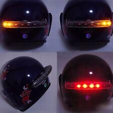 Wireless DC12V LED Motorcycle Custom Helmet Turn Signal Stop Brake light Lamp
