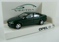 Opel Vectra - Werbemodell Opel - dunkelgrün Herpa 1:87 H0 OVP [K11]