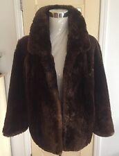Vintage Genuine Demi coat jacket by possibly MINK? FUR for sure