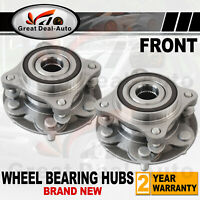 2PCS Front Wheel Bearing Hubs ABS fit for Toyota Landcruiser Prado 120 Series
