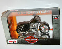 Maisto - Harley Davidson 2012 XL 1200V SEVENTY-TWO (Brown) Model Scale 1:18