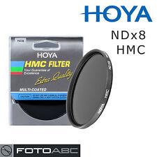 Hoya Graufilter Neutral Density NDx8 ND8 HMC Filter - 62mm 62 mm