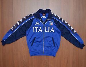 Kappa Italia Soccer Football 1998-2000 Vintage TrackSuit Top Jacket Mens sz L