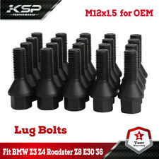 Set of 20 Wheel Lug Bolts Nuts 12 X1.5mm for BMW E46 E90 E39 E60 E53 36131095390