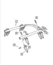 Fuel Injector Rail-Rail Mopar 5014496AD wrangler tj 05-06 Rubicon, SE, Sport, Un