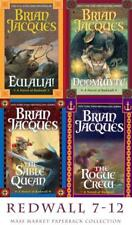 Brian Jacques REDWALL Series MASS MARKET PAPERBACK COLLECTION Books 19-22