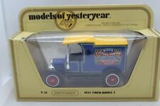 Matchbox Models of Yesteryear Y-12 Ford Model T Van in Birds Custard Livery