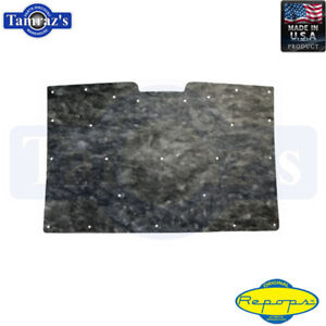 1981-1987 Chevy GMC Truck Hood Insulation Pad High Quality With Clips RePops