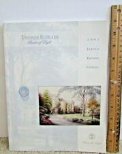 2002 Thomas Kinkade Limited Edition Catalog Of Beautiful Paintings