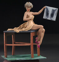 Pin-Up X-Ray Checking, Women 80mm, Painted Tin Toy Soldiers, Andrea Girls