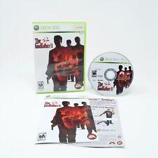 The Godfather II 2 Microsoft Xbox 360 Game and Manual CIB Tested Free Shipping