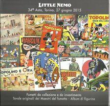 LITTLE NEMO 34° ASTA DEL FUMETTO , GIUGNO 2015 VOLUME BROSSURATO !!!!!