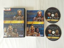 MEDIEVAL II TOTAL WAR GOLD EDITION PC GAME.