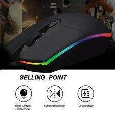 Gaming Maus Optische USB Gamer Mouse 2400DPI Beleuchtet 4 Tasten PC Computer