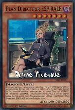 Yu-Gi-Oh ! Plan Directeur ESPIRALE INOV-FR087 (INOV-EN087) VF/Super Rare