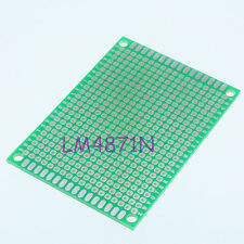 Single Side Prototype PCB Tinned Universal Bread board 5x7 cm 50x70 mm FR4 DIY