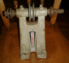 Vintage Millers Falls No.120A Single Pulley belt driven Arbor Stand