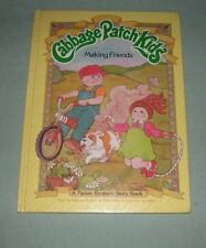 BOOK HC Cabbage Patch Kids - Making Friends - 1984