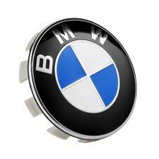 4 Cache Moyeu Logo BMW 68mm Cache Moyeu Centre de Roue Jantes Emblème Insigne