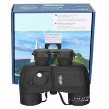 10X50 Waterof Military Binoculars Prism with Range finder Compass·New Fast R4R1