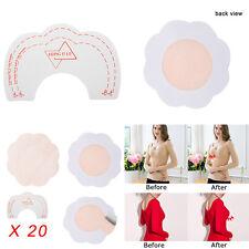 20 Nipple Cover Petal Shape Adhesive Sticker Bra Pad Patch Disposable HK
