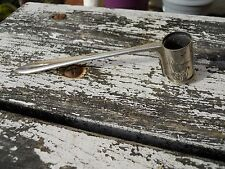 Ancienne mesure à cartouche entièrement en métal, chasse vénerie