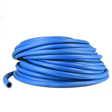 """1 ft - 4AN Blue Push Lock Hose for Fuel Oil Coolant Air 1/4"""" Rubber Loc On"""