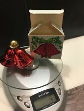 Avon Christmas Bells Decanter Sweet Honesty Cologne 1 Fl Oz. Vintage Never Used