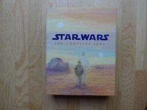 Star Wars: The Complete Saga - 9 blu-ray Discs - Episoden 1 - 6 + 3 Bonus Discs